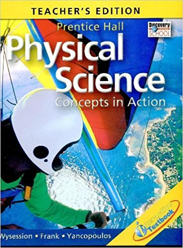 Download Physical Science: Concepts in Action (TEACHER'S EDITION) ebook