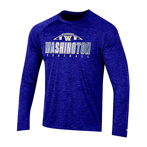NCAA Washington Huskies Mens NCAA Men's Short Sleeve Football Season Jersey Teechampion NCAA Men's Short Sleeve Football Season Jersey Tee, Ravens Purple, XX-Large, Ravens Purple, ()