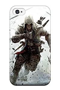 Ralston moore Kocher's Shop Best Perfect Tpu Case For Iphone 4/4s/ Anti-scratch Protector Case (assassin's Creed 3 2012 Game)