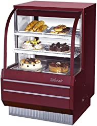Turbo Air TCGB-36-2 36 Curved Glass Refrigerated Bakery Case