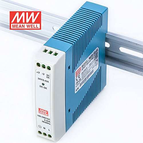 MEAN WELL MDR-10-24 DIN Rail Power Supply 10W 24V 0.42A Low No-load Loss by MEAN WELL (Image #6)