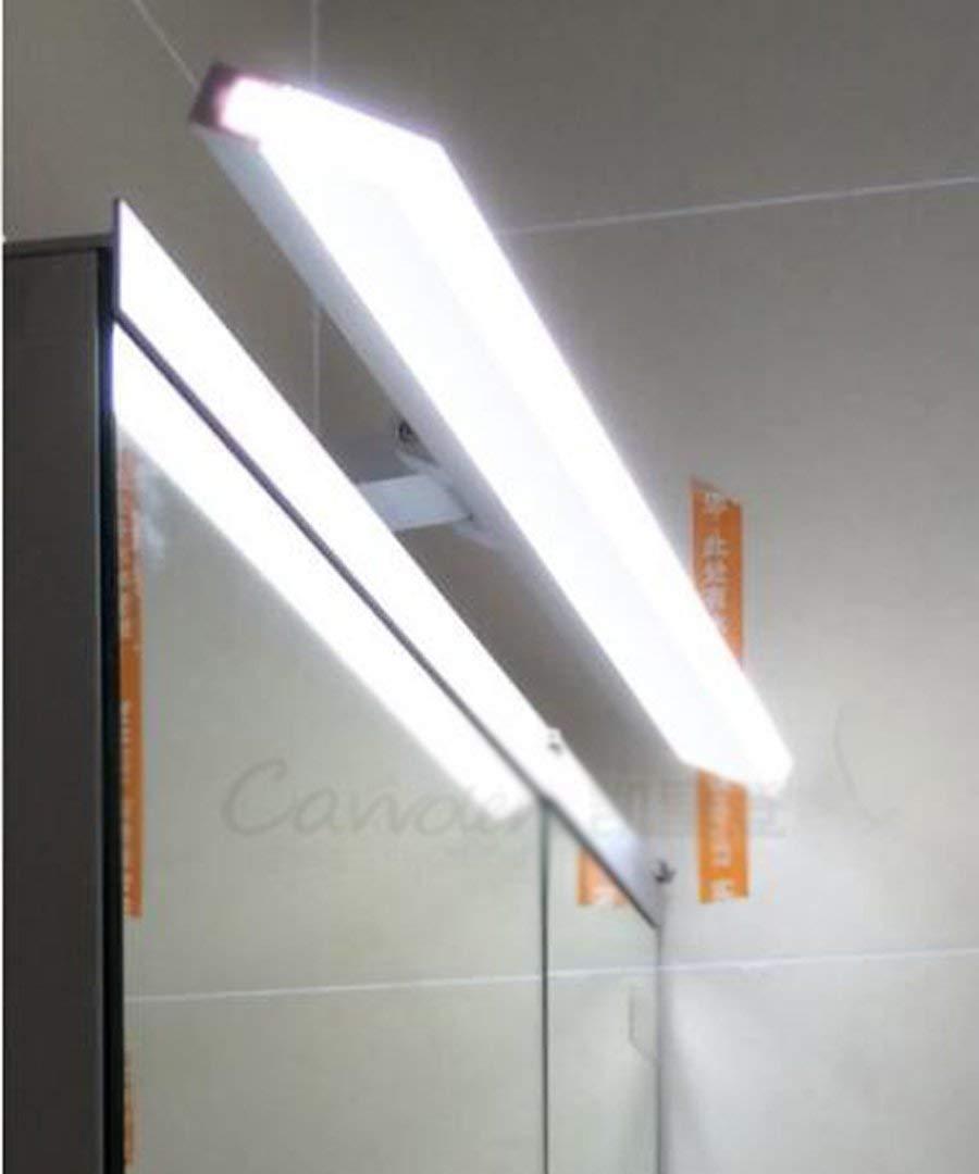 Is Weiß-0.5m (8w) XHCP Bad Kommode Bad WC LED Spiegel Frontlampe Wandlampe (Farbe  ist Weiß-0.5m (8w))
