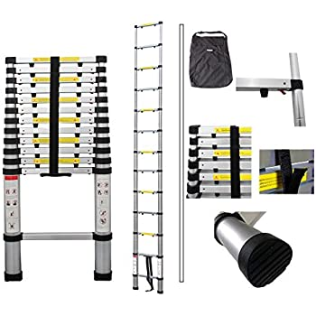 Todeco Telescopic Ladder Foldable Ladder Maximum Load