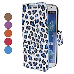 QJYB Samsung S4 I9500 compatible Special Design PU Leather Cases with Stand , Purple
