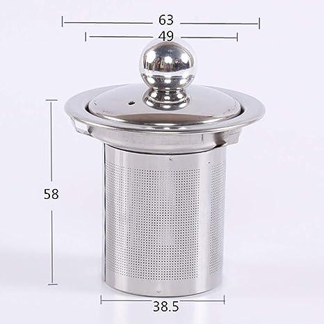 Ruby569y Infusor de té de acero inoxidable, filtro de malla ...