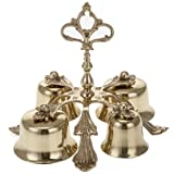 Holyart Altar bell four sounds golden-plated decorated