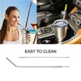 "10.5"" Stainless Steel Metal Drinking Straws,Fits"