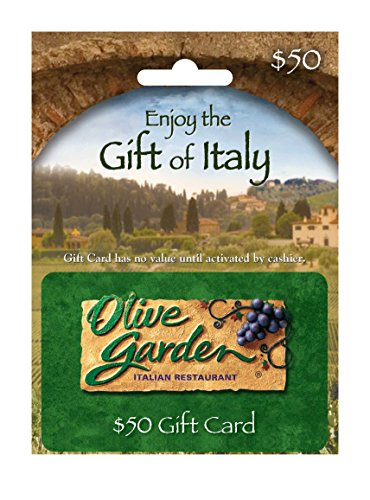 Olive Garden $50 Gift Card (Best Way To Store Spaghetti)