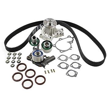 amazon gates tckwp104 timing belt ponent kit with water pump 24V Pump Stainless dnj tbk630wp timing belt kit with water pump for 1990 1996 nissan 300zx 3 0l dohc v6 24v 2960cc vg30de vg30dett