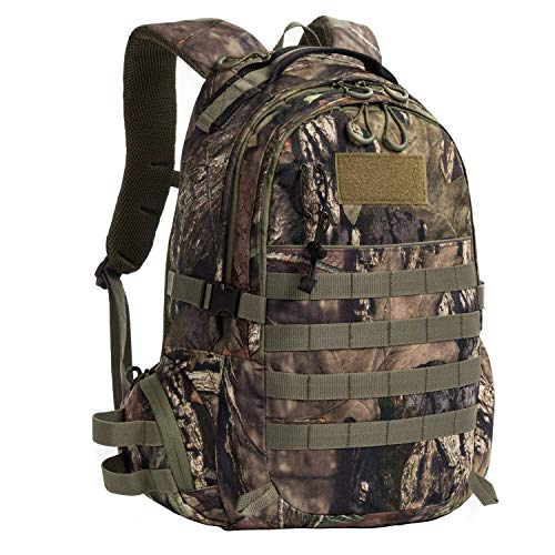 AUMTISC Hunting Backpack Packs Outdoor Travel Bag Durable Camouflage Camping Hiking Climbing Green