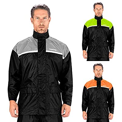 Viking Cycle Motorcycle Rain Gear - Two Piece Motorcycle Rain Suit by Viking Cycle
