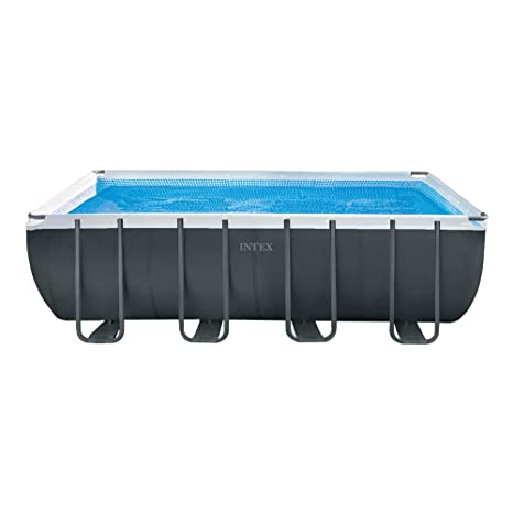 Intex 26356NP - Piscina desmontable rectangular Ultra XTR Frame 549 x 274 x 132 cm con
