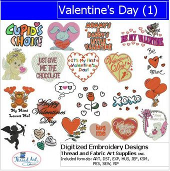 Amazon Com Machine Embroidery Designs Valentine S Day 1