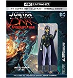 "Justice League Dark: Apokolips War Gift Set with 3"" Figurine Limited #d/8000 [4K Ultra HD Blu-ray + Blu-ray + Digital…"