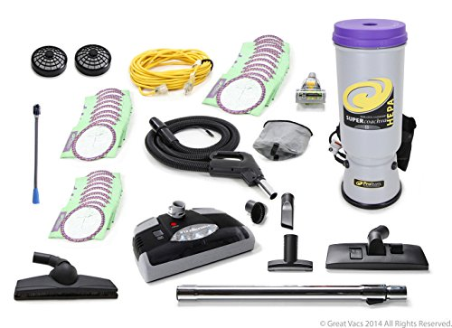 (NEW Fully Loaded Powerful Proteam Super CoachVac 10 QT Backpack Electric Head)