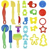 Kare & Kind Smart Dough Tools Kit with Models and Molds (Set of 24 Pieces)