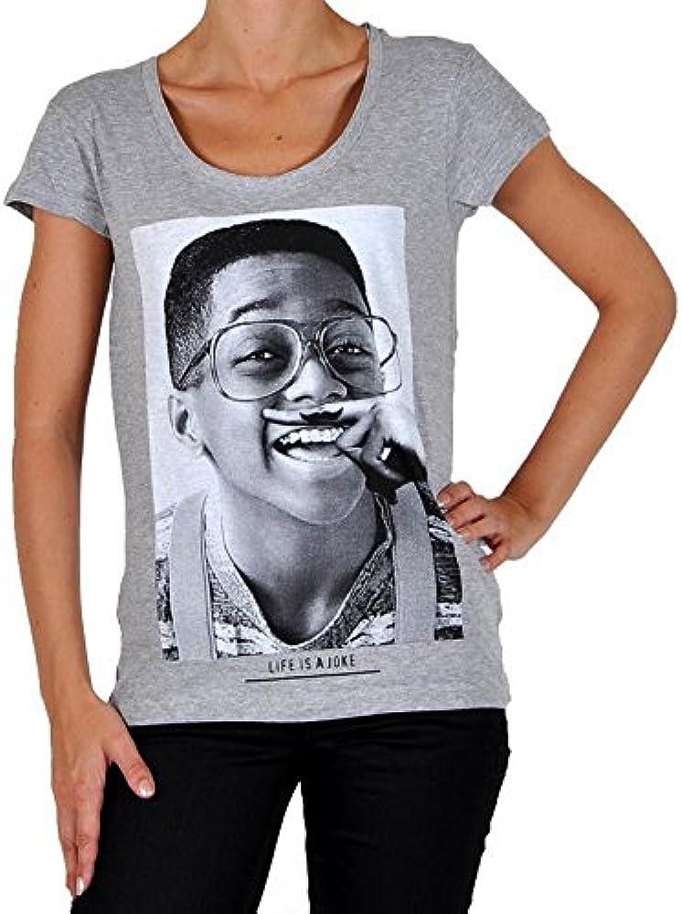 Camisa Eleven Paris Steve W Ts Steve Urkel Gris: Amazon.es: Ropa y accesorios