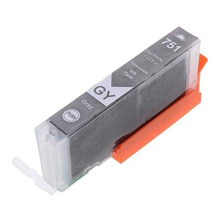 Cartuchos De Tinta CLI-751Y XL/CLI-751GY XL Para Impresora ...