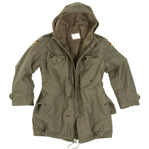 Mil-Tec BW Parka with Liner Olive size L