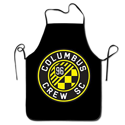 Chef Apron Cooking Apron Columbus Crew Sc Bib Apron Professional Apron For Cooking,Grill And Baking (28''x20'')