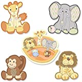 Noah's Ark - DIY Shaped Party Cut-Outs - 24 Count
