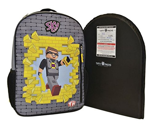 Backpack Removable Ballistic Shield 12''x16'' Level IIIA ''NEW YOUTH SIZE'' WATCH OUR SHOOTING VIDEO by TuffyPacks