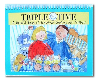 Triple Time (Triple Time - Triplets Daily Schedule Book)