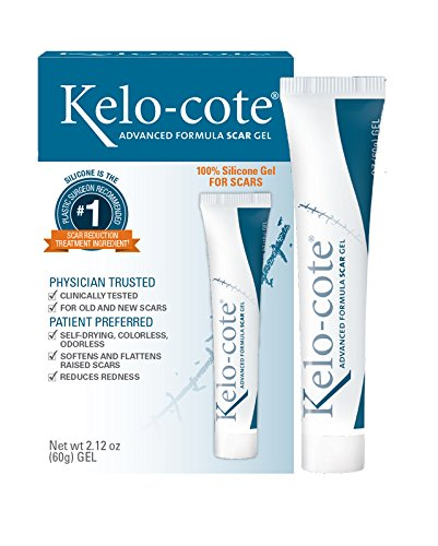 Kelo-cote Advanced Formula Scar Gel, Improves the Appearance of Old...
