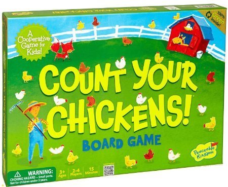 Peaceable Kingdom / Count Your Chickens Award Winning Cooperative Game for Kids -