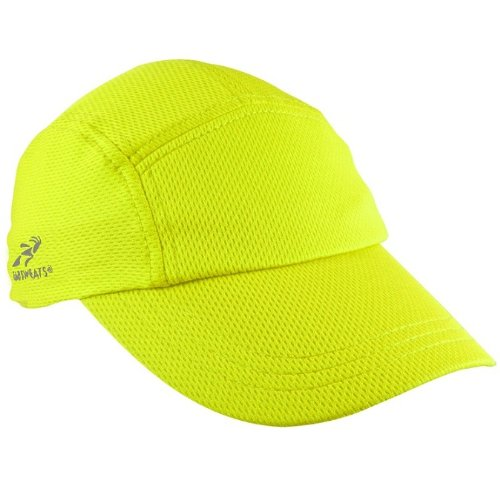 - Headsweats Performance Race Running/Outdoor Sports Hat, High Visibility Yellow