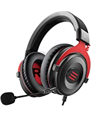EKSA PS4 Gaming Headset - Xbox Headset Wired Headphones with Detachable Noise Canceling Mic Stereo Sound, Gaming Headphones for PS4, Xbox One, Nintendo Switch, PC, Laptop