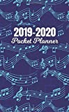 2019-2020 Pocket Planner: Two Year Monthly Organizer Pocket Size Notebook V1