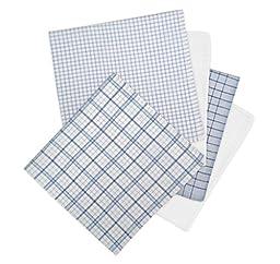 Geoffrey Beene 5 Pack Handkerchiefs (Navy)