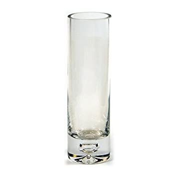 Amazon 8 Inch Cylinder Bud Vase Clear Glass Great For