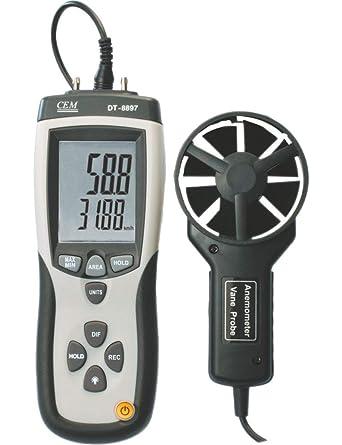 CEM Differential Pressure Manometer Plus Air Flow/Velocity