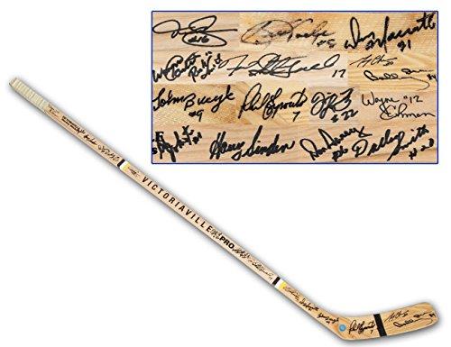 - Bobby Orr Signed Stick - 1970 16 Player - Autographed NHL Sticks