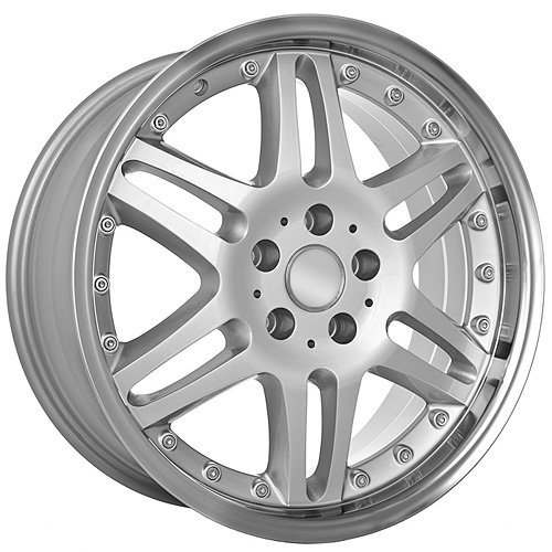 (18 Inch Staggered Mercedes Benz Replica Wheels Rims Monoblock Style)