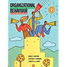 Organizational Behaviour: Concepts, Controversies, Applications, Fifth Canadian Edition with MyOBLab (5th Edition) by Nancy Langton (2009-03-16)