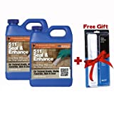511 enhancer and sealer - Miracle Sealants 511 Seal & Enhance 64 Oz. Penetrating Sealer (2 Quarts) + Free Mira Brush Applicator and Tray