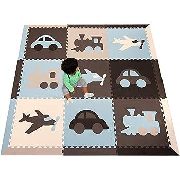Amazon Com Softtiles Transportation Theme Kids Baby