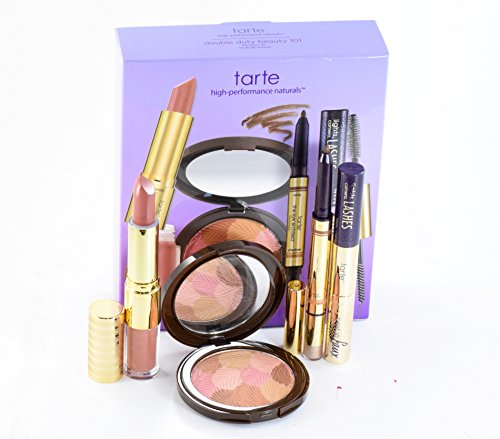 Tarte Double Duty Beauty 101 Discovery 4 Peice Set Double Duty Bronzer