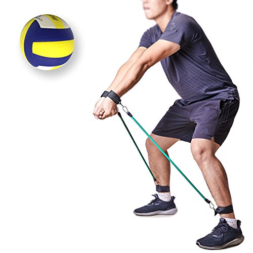 TopFan Volleyball Training Aid Resistance Band: Great Trainer to Prevent Excessive Upward arm Movement