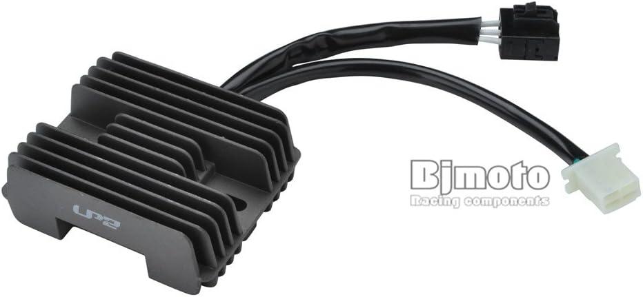 BJ Global Noir de moto R/égulateur de tension de Redresseur sadapter pour CF Moto 500/Cf500/500/cc UTV ATV Go Kart