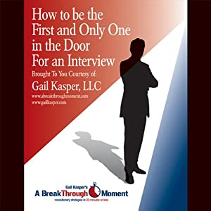 How to Be the First and Only One in the Door for an Interview Speech