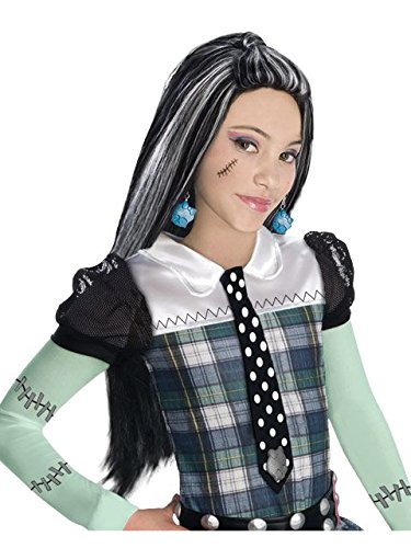 Monster High Child's Frankie Stein Costume Wig]()