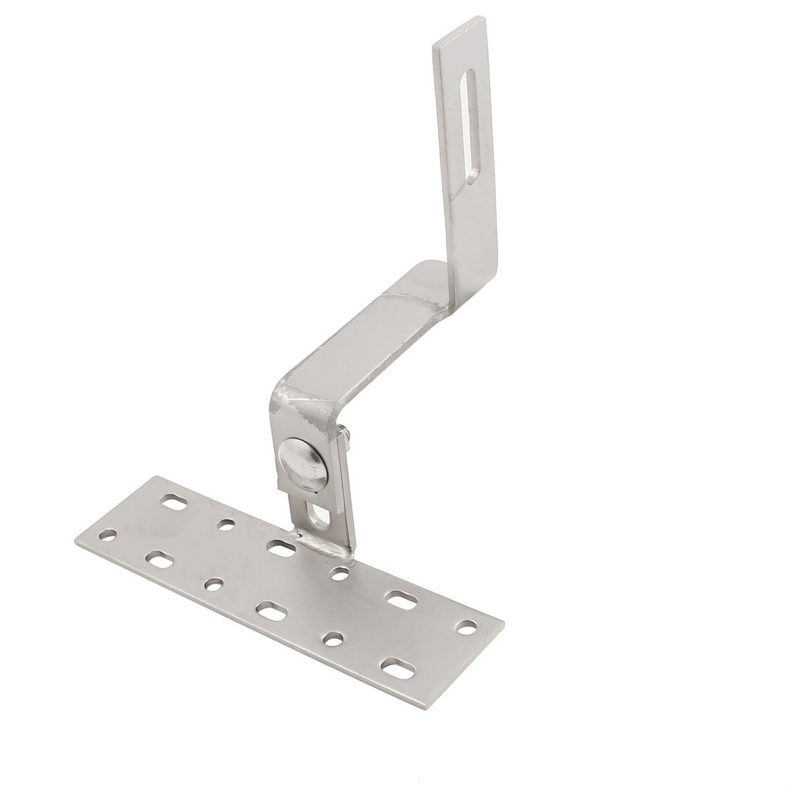 uxcell 180x150x184mm Adjustable Stainless Steel Solar Panel Mounting Brackets Slate Roof Hook