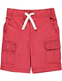"""Carter's Little Boys' """"Twill Solid"""" Cargo Shorts"""