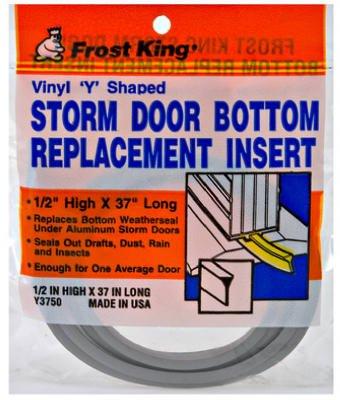 Storm Door Sweep Inset Bottom Seal (Pack Of 12)