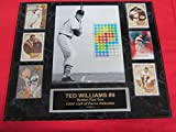 Ted Williams RED SOX 6 Card Collector Plaque w/8x10