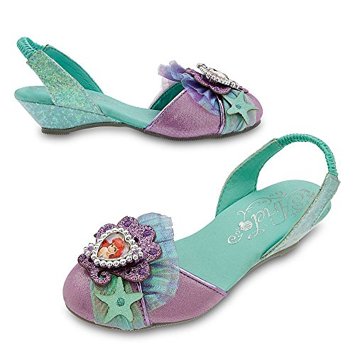 Disney Store Deluxe Ariel The Little Mermaid Slingback Shoes Heels Size 11 - -